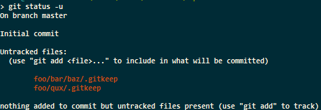 Git和空文件夹